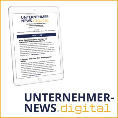 Der Newsletter rund um die Digitalisierung im Mittelstand