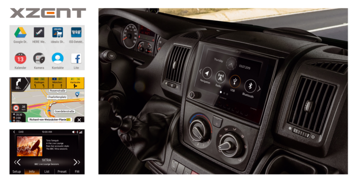 All-rounder – XZENT Infotainmer X-F270 for FIAT Ducato
