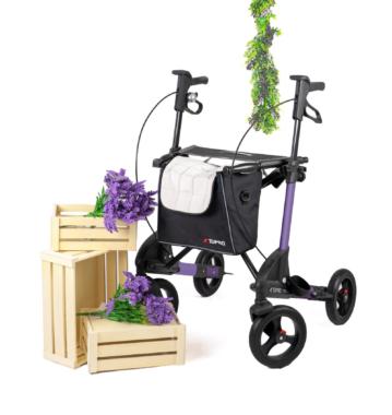 Neue Sonderedition des TOPRO Troja 2G: Sommerfeeling mit lavendelfarbenem Rollator