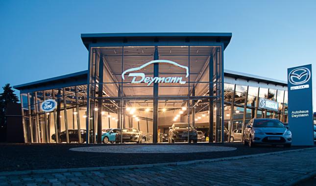 Interaktive Erlebniswelt rund um die Marke Ford