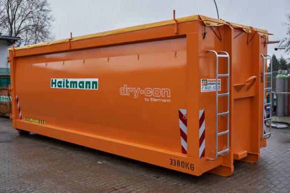 Dry-Con – Holztrocknung mit effektiver Luftführung im Mobilcontainer