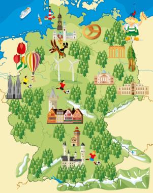 Ganz Deutschland von Zuhause aus bereisen