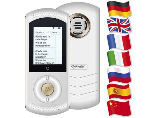 simvalley MOBILE Mobiler Echtzeit-Sprachübersetzer TTL-75