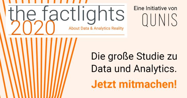 the factlights 2020: Der Einfluss von Digitalisierung, Data & Analytics auf Produkte und Geschäftsmodelle