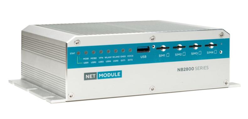 NetModules NB2810 – ITxPT konformer Multimedia-Router