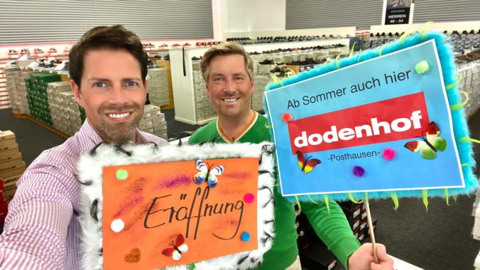 Neue Filiale – schuhplus ab Sommer bei dodenhof in Posthausen