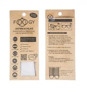 Schluss mit beschlagenen Brillengläsern – Dank FOOGY