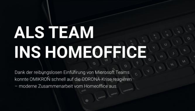 abtis ermöglicht mit Teams-Einführung reibungslose Zusammenarbeit auch im Homeoffice für Omikron