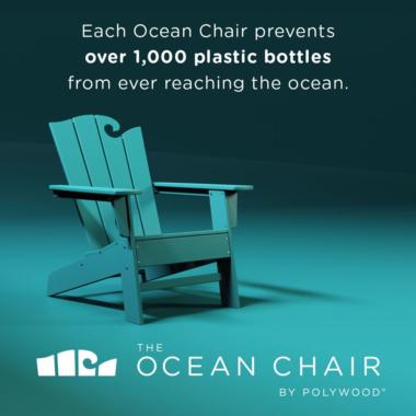 Warum Original Polywood Möbel gut für die Ozeane sind