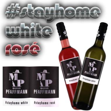 Winzer Markus Pfaffmann/Pfalz trinkt seine Weine zu Hause