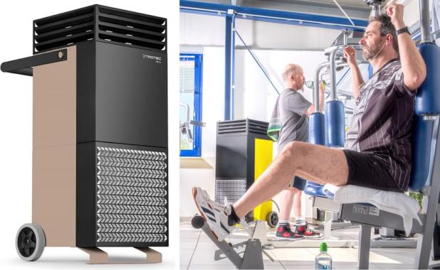 Innovation aus Heinsberg: Maximaler Infektionsschutz in Fitnessstudios