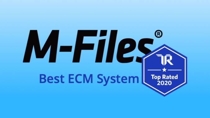 Nutzer wählen M-Files zum Top Rated ECM 2020