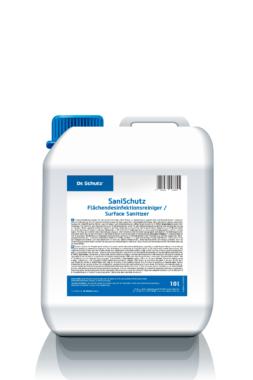 Neue Hand- und Flächendesinfektion sowie Webseite und Handbuch zur Hygienesicherung von Dr. Schutz