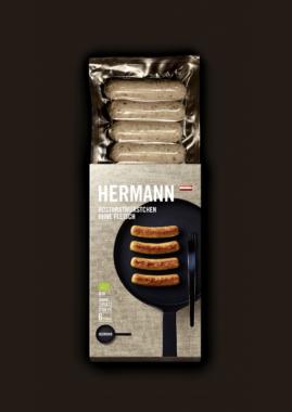 Neue Verpackung aller HERMANN Produkte