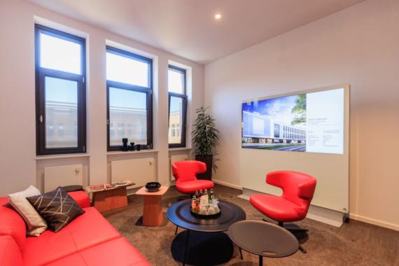 Bauunternehmen Harfid setzt auf Display-Lösungen von Philips Professional Display Solutions