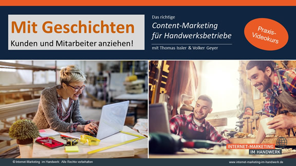 Content-Marketing fürs Handwerk