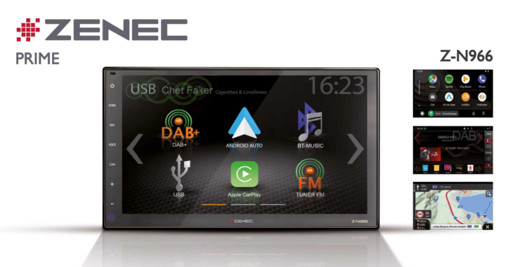 High Definition on the Move – ZENEC Infotainer Z-N966