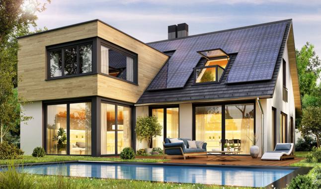 Kombination aus Photovoltaikanlagen und Infrarotheizungen