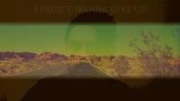 Fürs Musikvideo extra in die Wüste von Nevada – melanctron