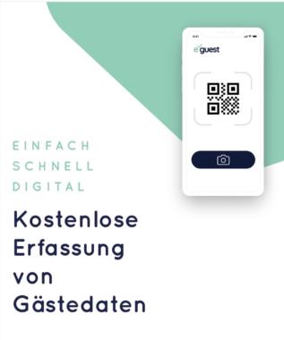 e-guest.de: Die kostenlose Kundendatenerfassung für Betriebe per App und Web-Applikation