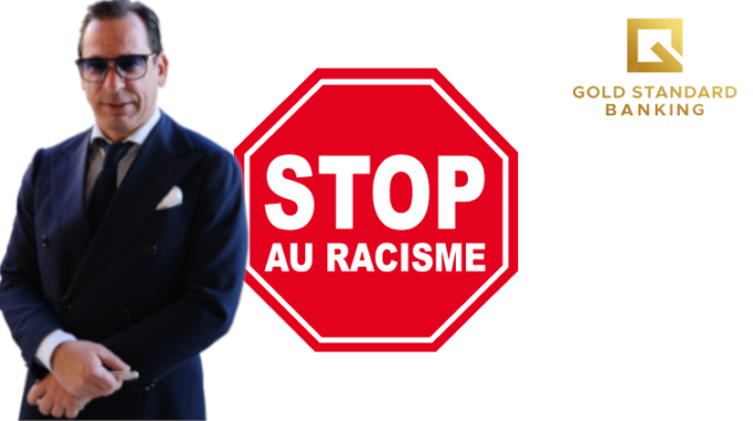 Josip Heit and GSB Gold Standard Banking on racism and coronavirus