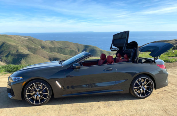 SmartTOP additional convertible top control available now for the new BMW 8 Series