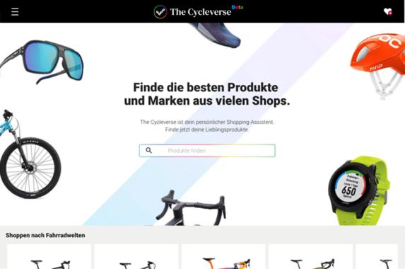 The Cycleverse. Die neue Fahrrad-Suchmaschine ist online.