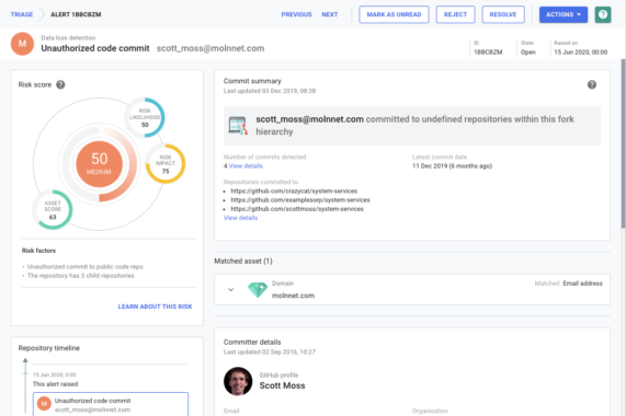 Neue Funktionen in SearchLight: Source Code Leaks schneller aufspüren