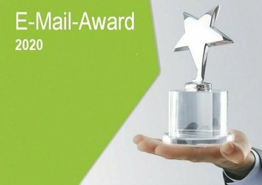 E-Mail-Award 2020: Bewerbungsfrist endet am 01.07.2020