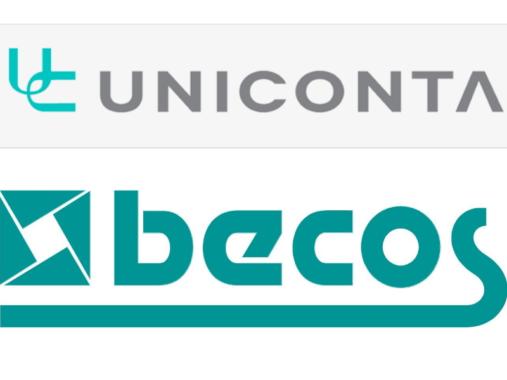 becos und UNICONTA begründen Partnerschaft