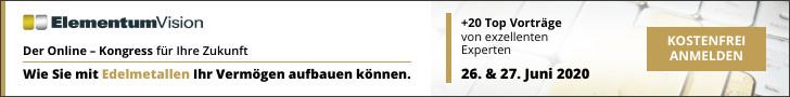 Online Edelmetall-Kongress am 26./27.  Juni