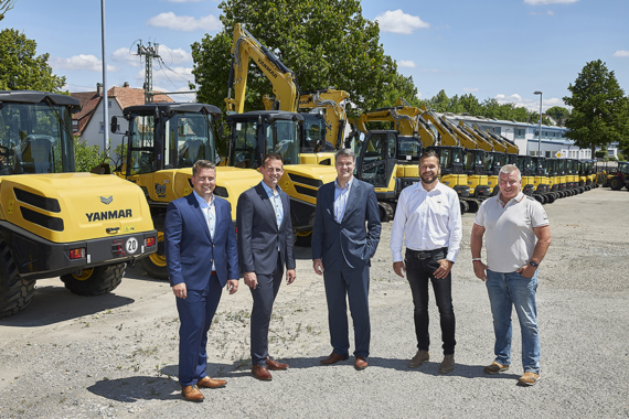 Extended contract territory for strong Yanmar partner