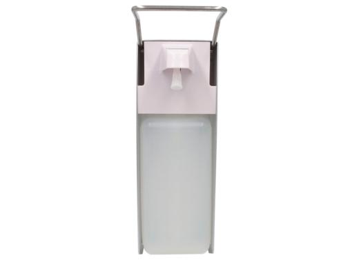 """Neu im Programm bei MrDISC: Preiswerter manueller Flüssigkeitsspender """"Push"""" perfekt für Desinfektionsmittel oder Flüssigseife"""