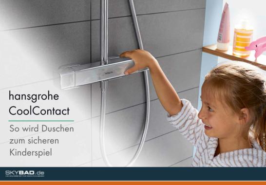 Mehr Sicherheit beim Duschen mit hansgrohe