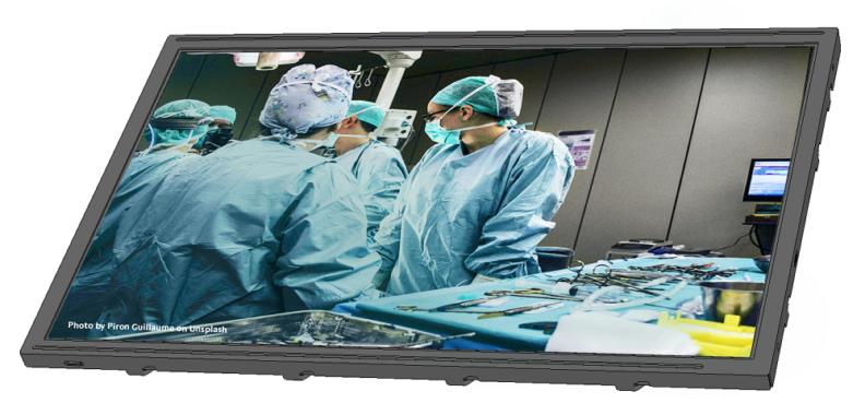 Kyocera entwickelt hochwertige Displays für medizinische Anwendungen