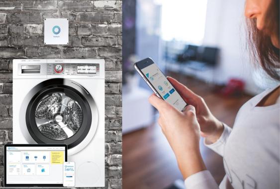 Neue App bringt mehr Komfort und optimiertes Nutzererlebnis im Gemeinschaftswaschraum
