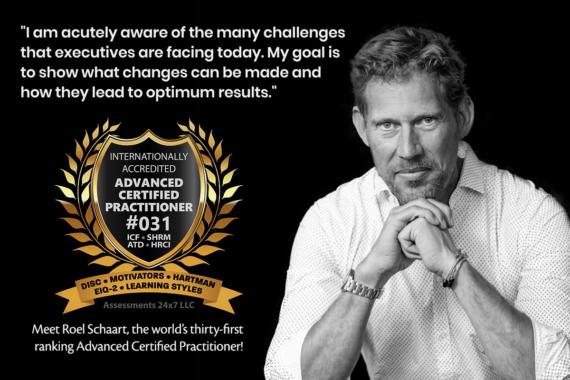 Roel Schaart – internationally accredited Advanced Certified Practitioner #31