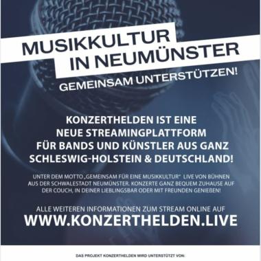 Konzerthelden Neumünster Musikkultur Schleswig-Holstein