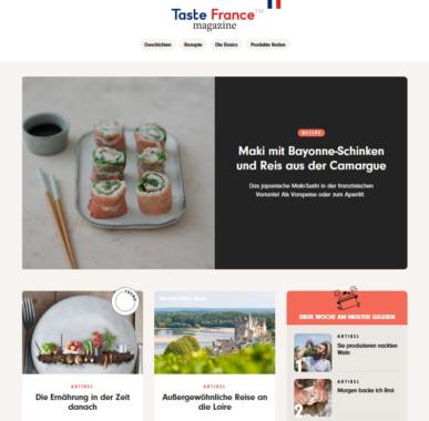 TasteFrance.com geht an den Start