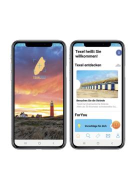 """Erfolgreicher Start: App """"TexelMap"""" hilft Gästen beim Urlaub auf Abstand"""