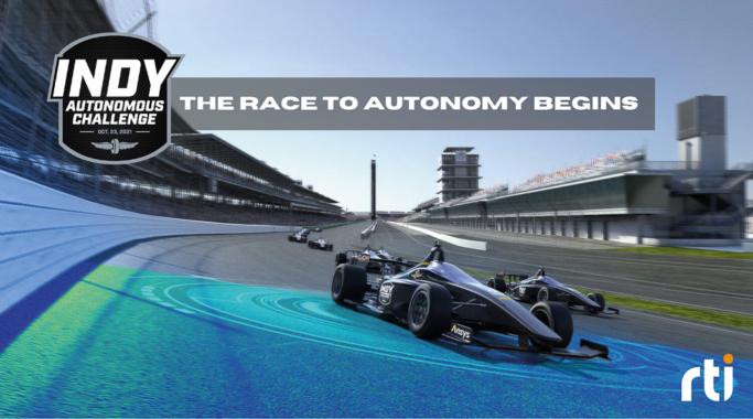 Indy Autonomous Challenge verwendet RTI-Software