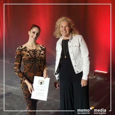 memo-media verleiht Sonderpreis an Veronica Fontanella