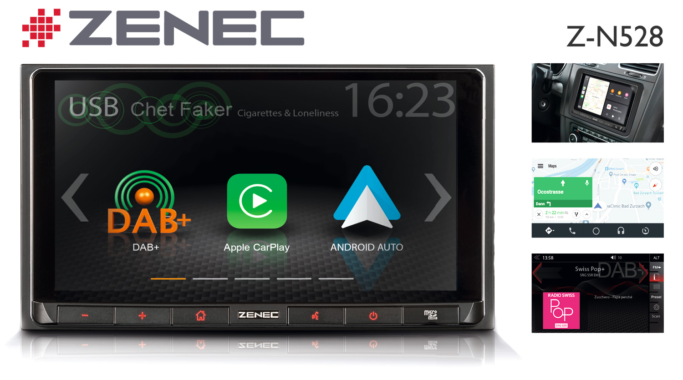 Mobile Lifestyle for the Car: The ZENEC Infotainer Z-N528