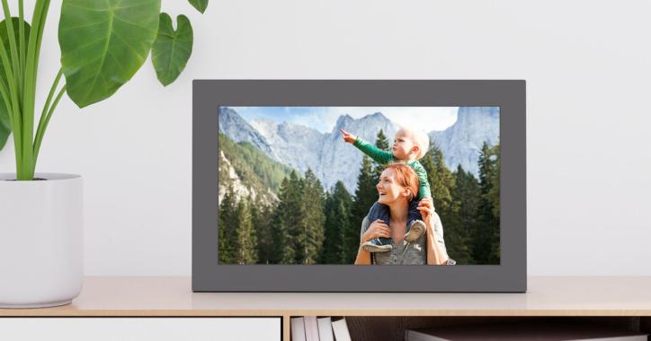 NETGEAR® präsentiert den neuen Meural WiFi Photo Frame und ermöglicht Instant Sharing von überall und von mehreren Geräten aus