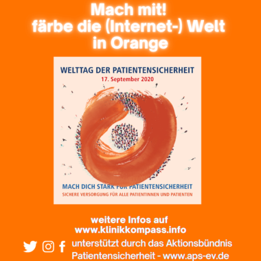 #patientsafety – Die (Internet-)Welt in Orange
