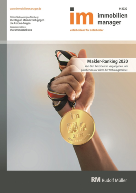 immobilienmanager Makler-Ranking 2020