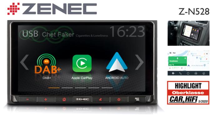 """Prädikat """"Highlight"""" – ZENECs Auto-Infotainer Z-N528"""