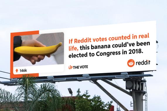 """""""Up The vote"""": R/GA und Reddit rufen zur Beteiligung an US-Wahl auf"""