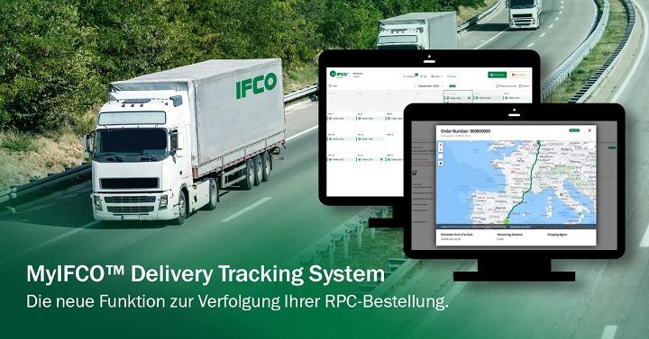 IFCO stellt neues MyIFCO Delivery Tracking System zur Echtzeit-Lieferverfolgung sowie überarbeitetes Design von MyIFCO order vor