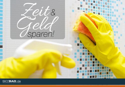 6 Tipps für eine schnelle Badreinigung